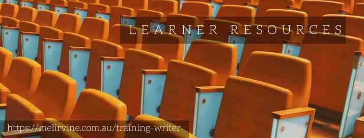 Melinda J. Irvine -- training writer1 on writingbiz.net