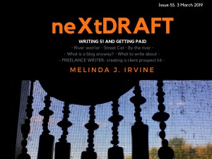 neXtDRAFT an eZine by Melinda J. Irvine Issue 55.