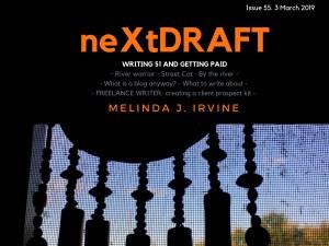 neXtDRAFT an eZine by Melinda J. Irvine Issue 55.