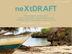 neXtDRAFT an eZine by Melinda J. Irvine Issue 56.
