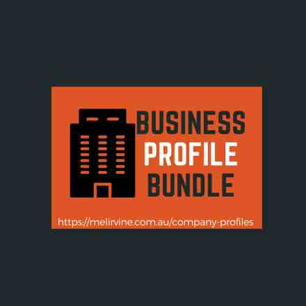 business profile bundle @ Melinda J. Irvine
