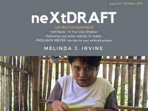 neXtDRAFT an eZine by Melinda J. Irvine Issue 62.