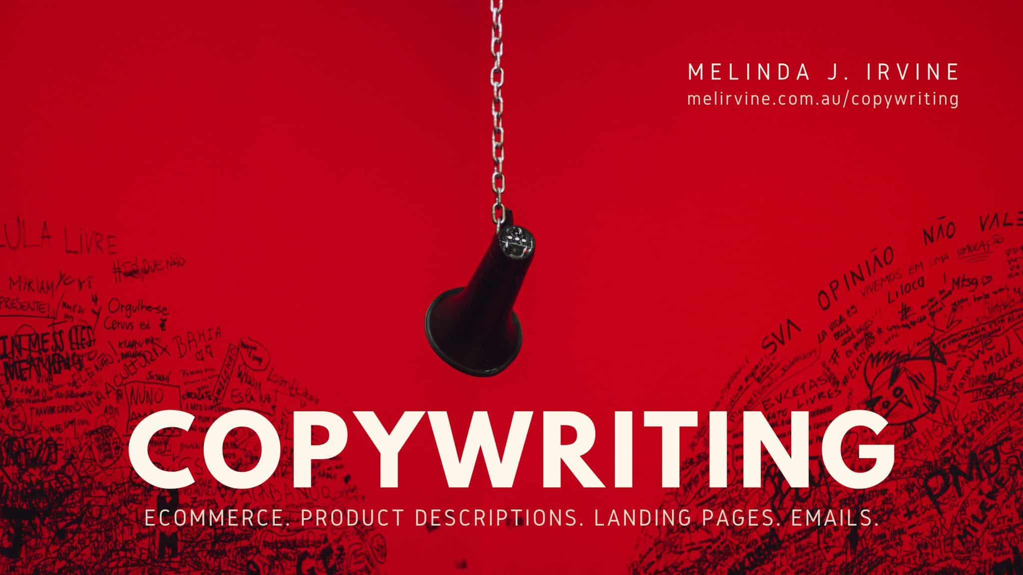 COPYWRITING SERVICE @ Melinda J. Irvine