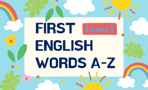 first english words a-z level 1 course thumbnail