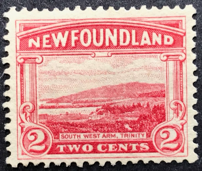1923 Newfoundland Scenes 2c Red MLH SG 150