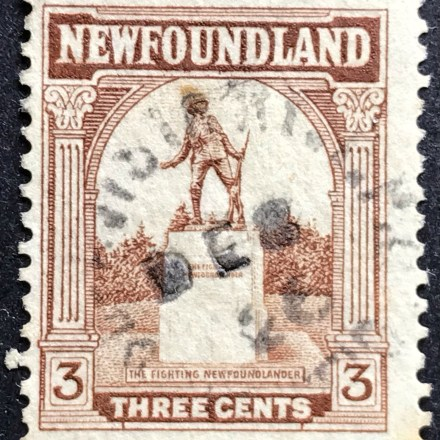 1923 Newfoundland Scenes 3c Brown Used SG 151