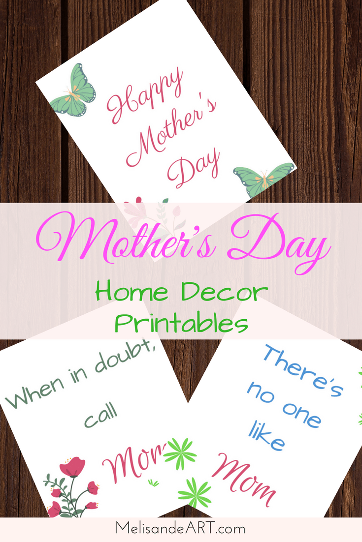 Mother S Day Printables Free Decor And Gift Prints Melisandeart