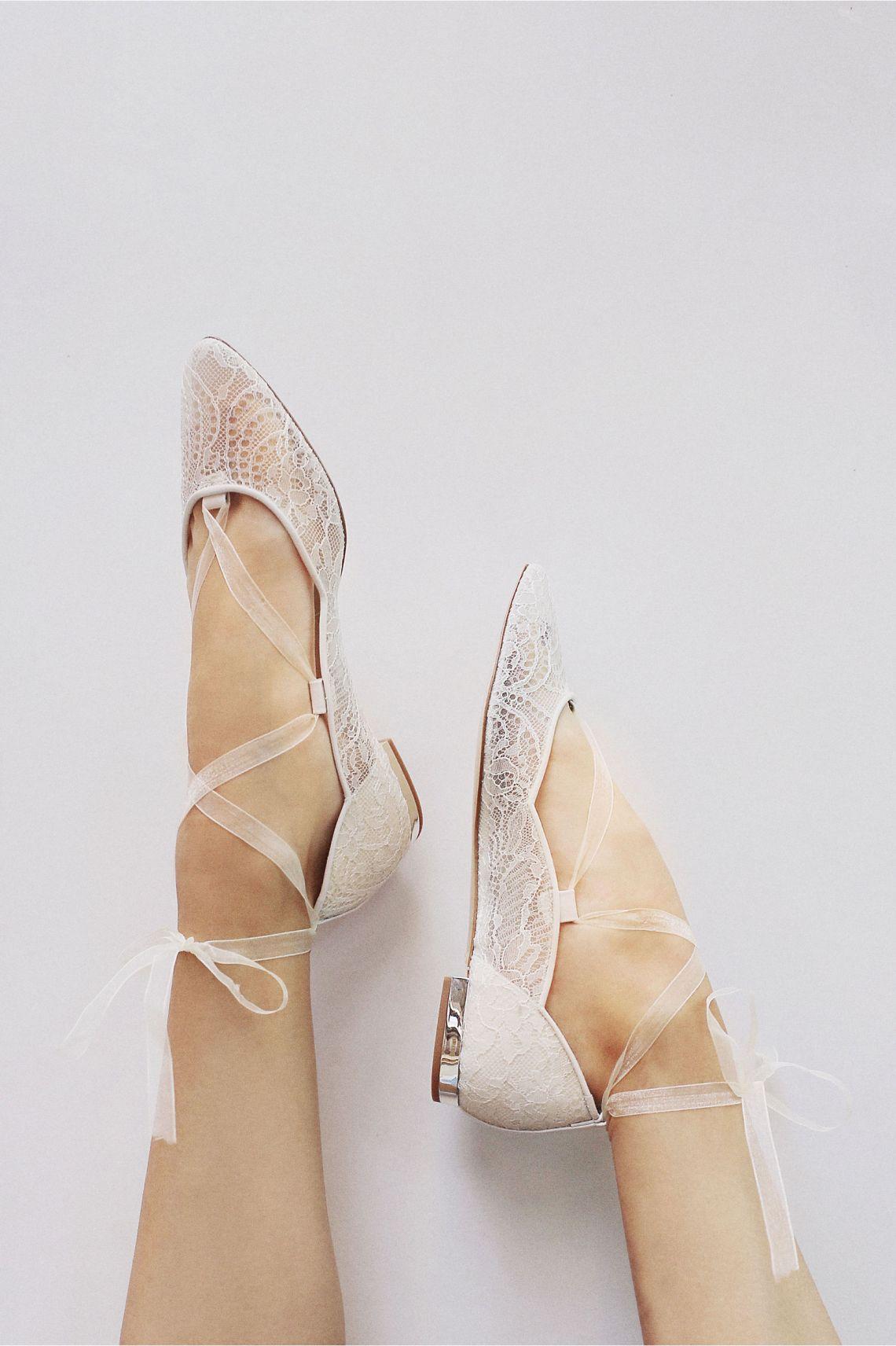 Zapatillas planas para novia