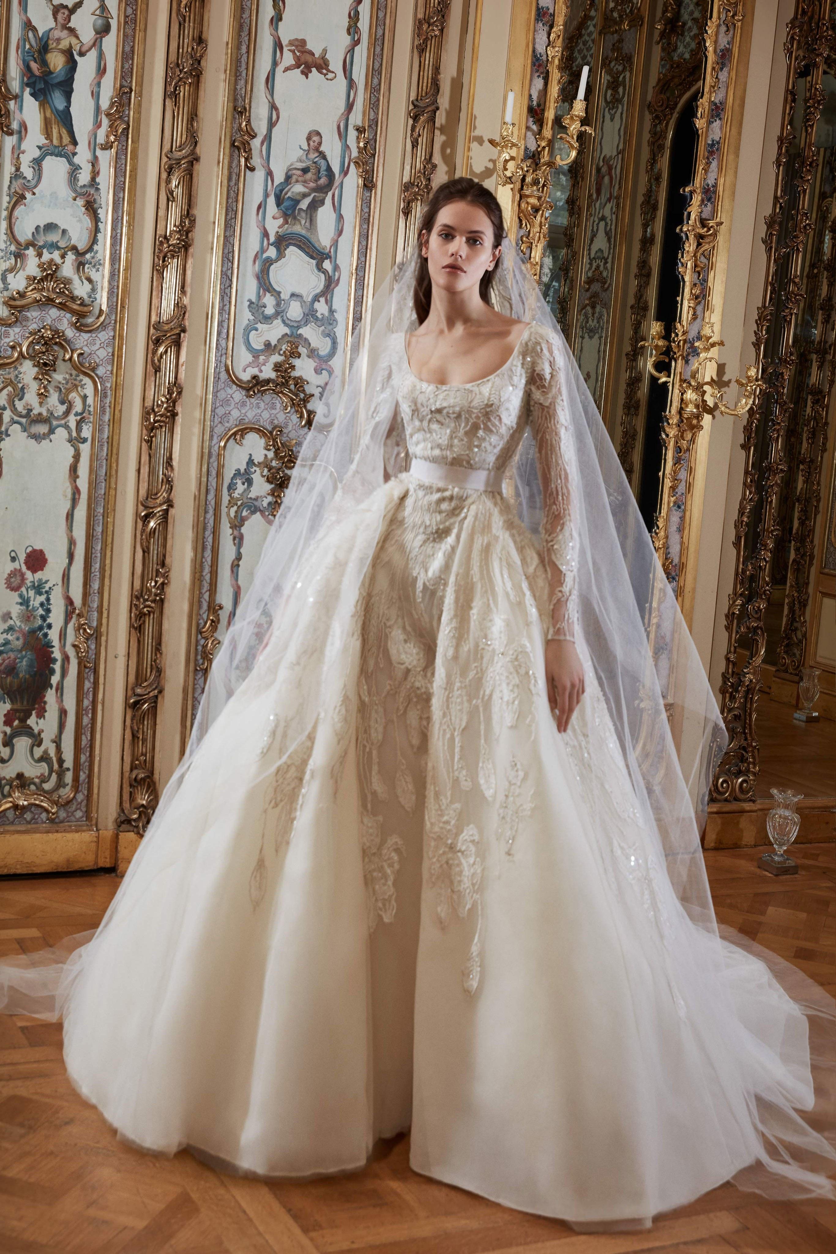 Elie Saab 2019: Vestidos de novia perfectos