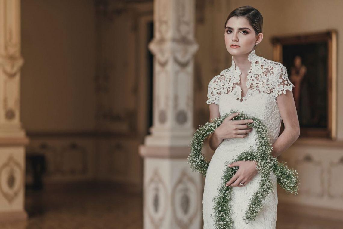 Andrés Gasque, diseñador de moda para novias en México