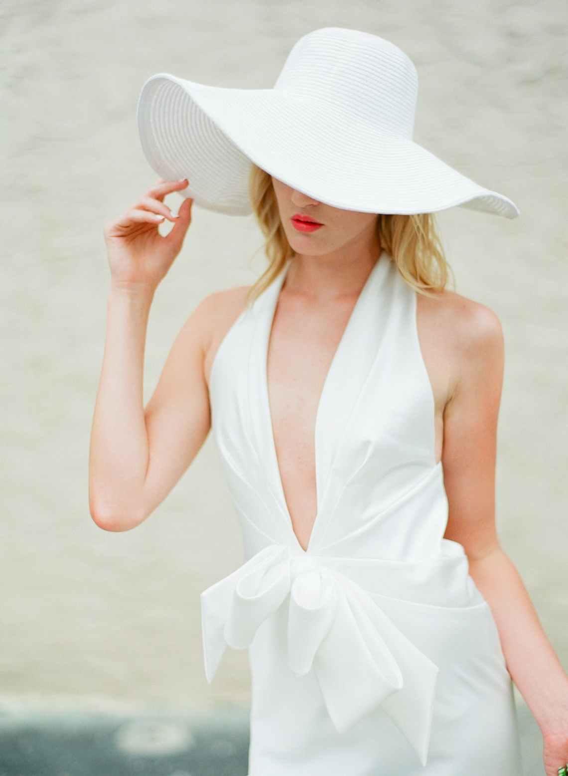 Sombreros para novia