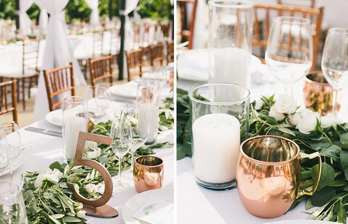 Moscow Mule decoración boda