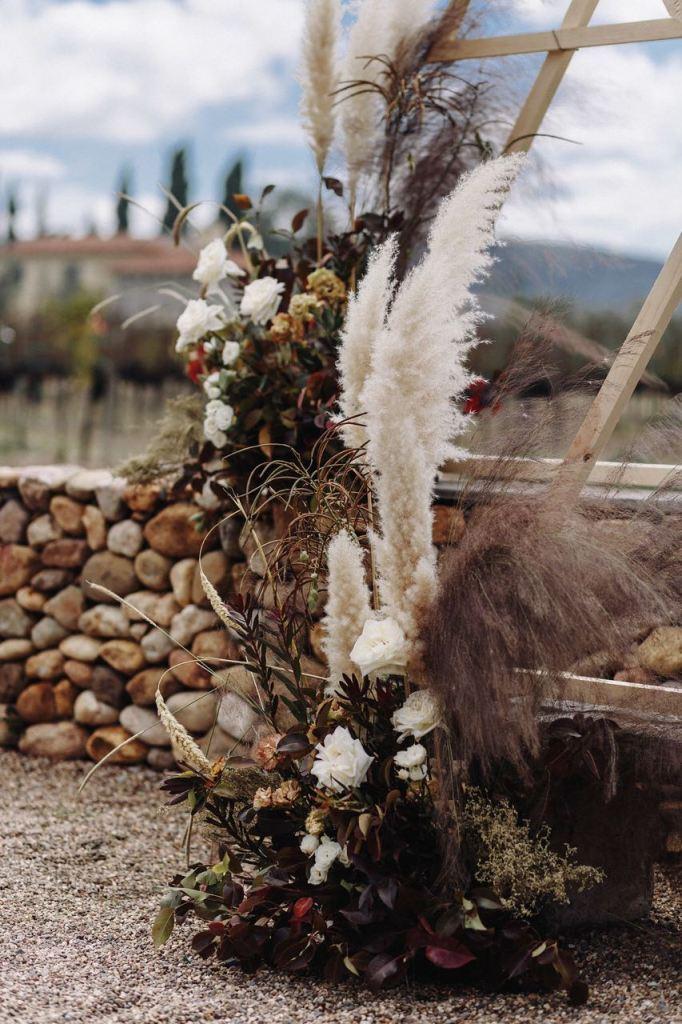 Pampas Grass en tu boda