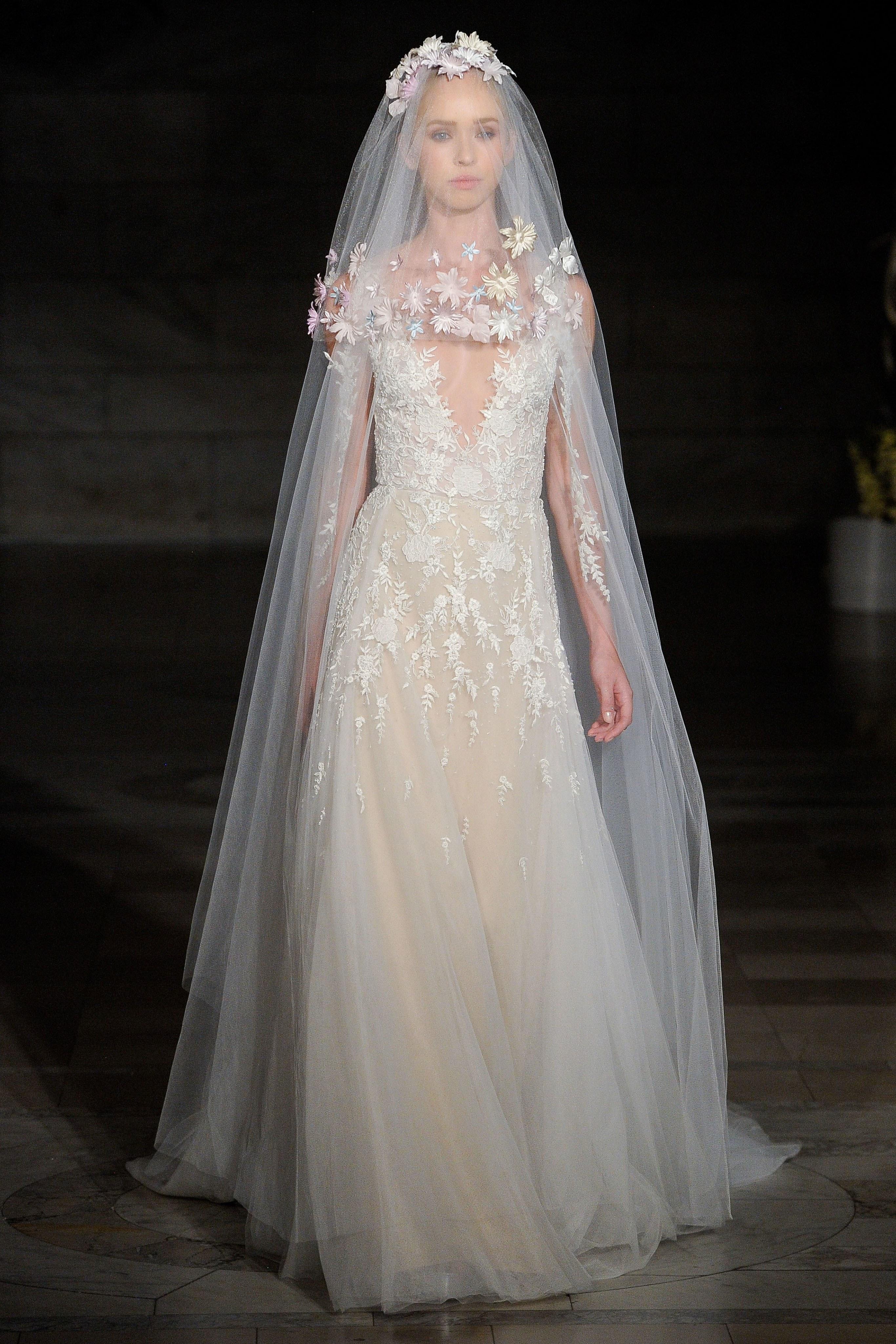 Vestidos de novia Reem Acra otoño 2019