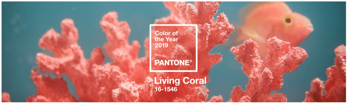Living Coral, el color oficial del 2019