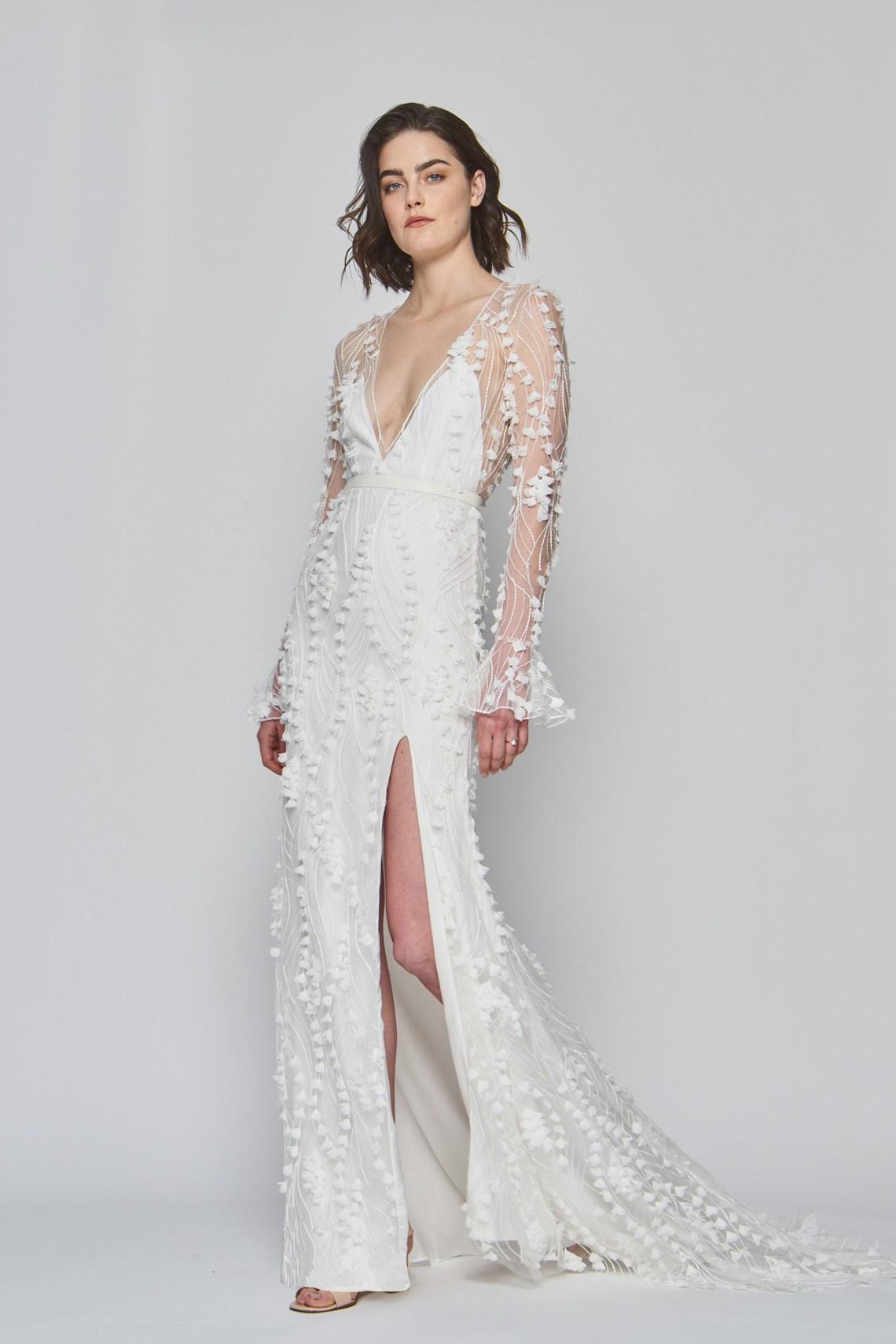 247400fe0 Vestidos de novia con manga larga 2019  ¡Elegancia al por mayor ...
