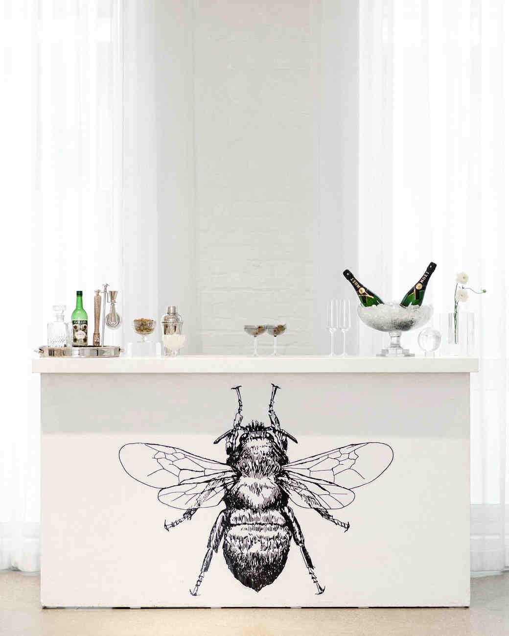 Ideas para decorar una boda con abejas
