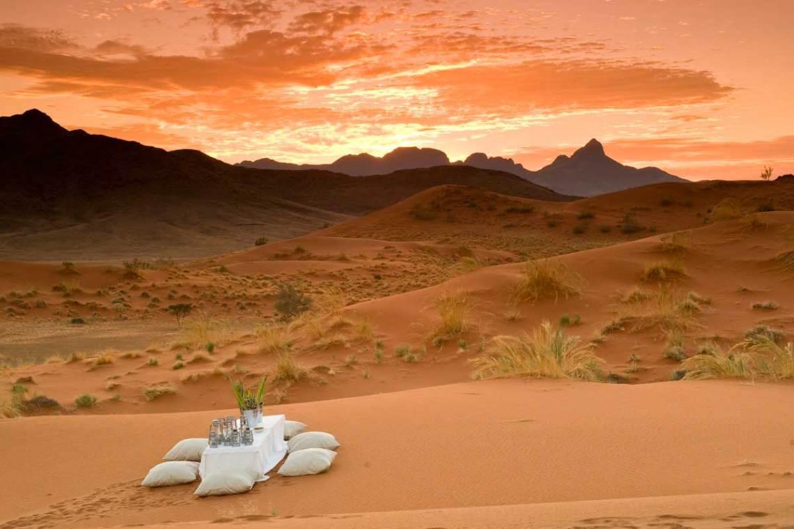 Luna de miel en Namibia