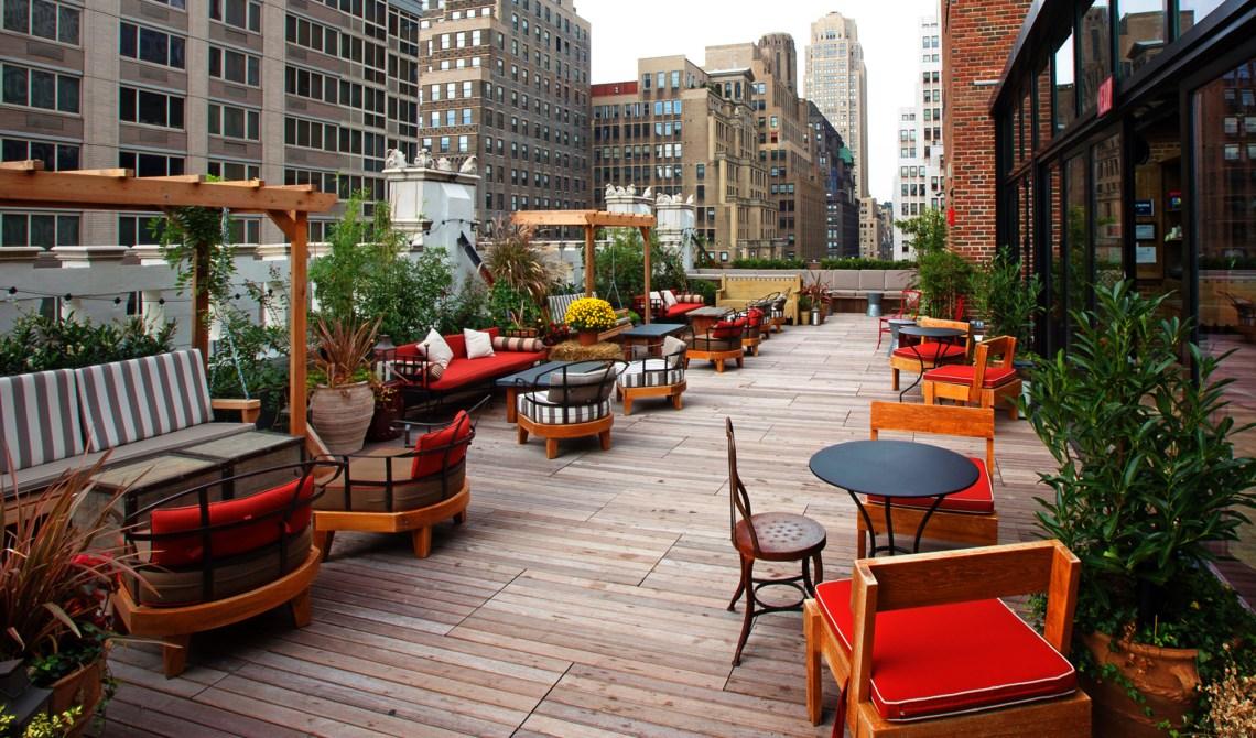 Rooftops de Nueva York con las mejores ideas para decorar tu boda