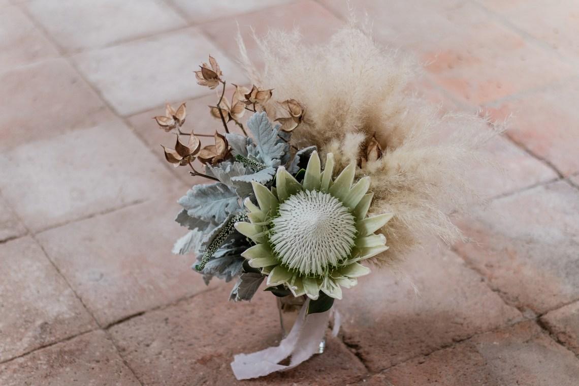 Inspiración para una boda bohemia