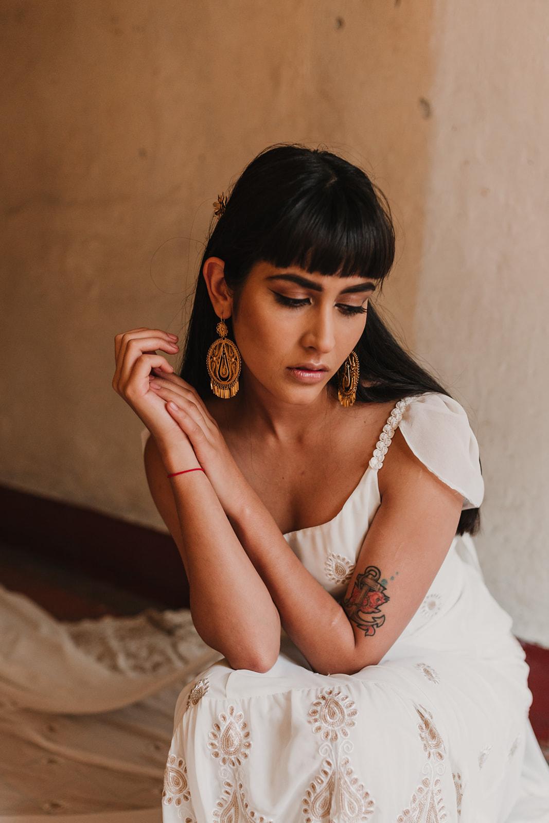 Tres Cuartos shooting editorial en la ciudad de méxico