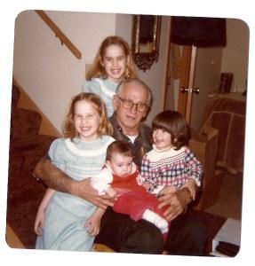 grandpa and kids