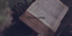 Welcome - Welcome
