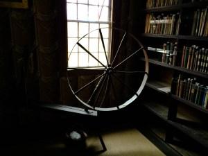 Old Manse Spinning Wheel 300x225 - Old Manse