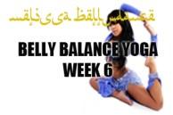 BELLY BALANCE YOGA WK6 JAN-APR2015