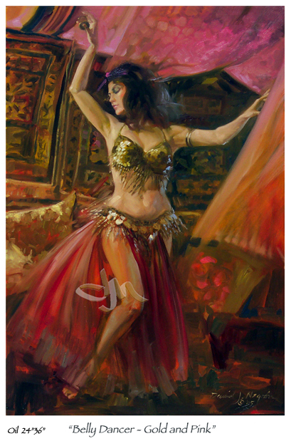 exotic-impressionist-painting-belly-dancer11.jpg - Melissa Belly ...