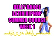 SUMMER 4 WEEK LATIN BELLY DANCE HIPHOP WK1 JULY 2020