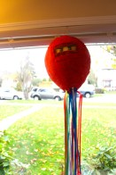 My mom was awesome enough to make this piñata!