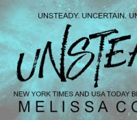 COVER REVEAL – Unsteady by Melissa Collins