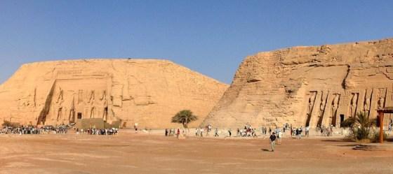 Sun Temple of Ramses II and Temple of Queen Nefertari, Sandstone, 13th century BCE, Egyptian