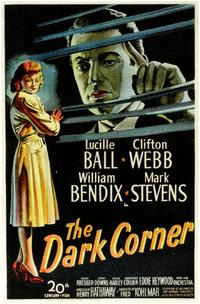The Dark Corner, 20th Century Fox, Poster, 1946, American