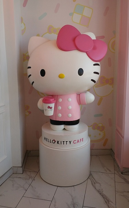 Hello Kitty at Cafe Cropped
