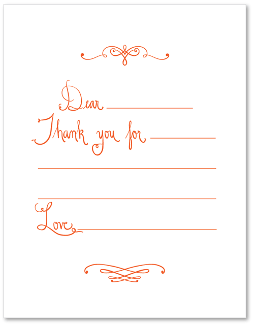 IS•LY Thank you Printable