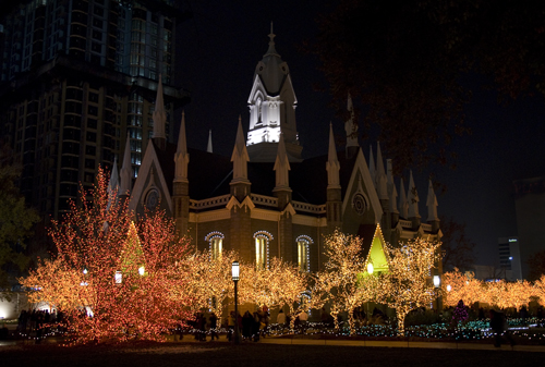 chapel on temple square