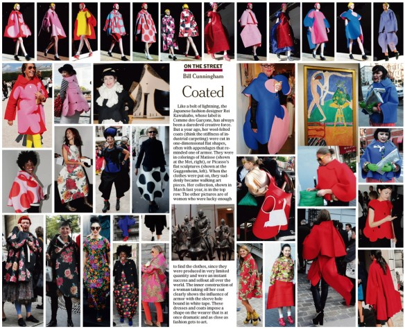 Credit: The New York Times On the Street with Bill Cunningham