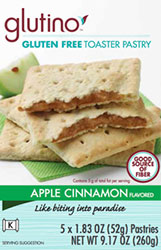 Glutino - Apple Cinnamon Pastry