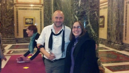Melissa and Colum McCann