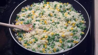 Confetti Rice - Low Iodine Diet