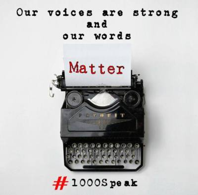 1000Speak - Voices Are Strong