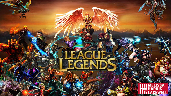 e-sport League of Legends