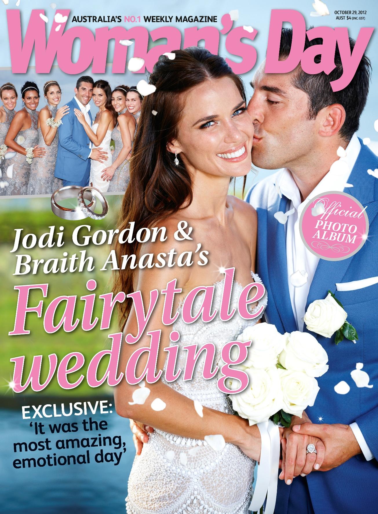 How The J Aton Wedding Dress Of Jodi Gordon Came To Life