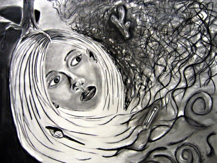 Charcoal, 4 ft 10 1/2 in. x 4 ft 11 1/2 inches, 2005