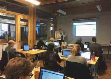 camp tech wordpress for beginners class