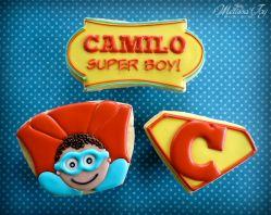 Super Boy Cookies!