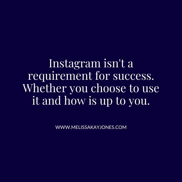Melissa Kay Jones - Blog - Does Instagram Create Additional Stress