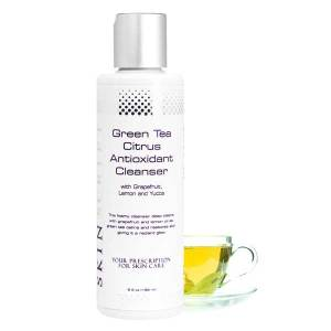 skin script green tea citrus antioxidant cleanser